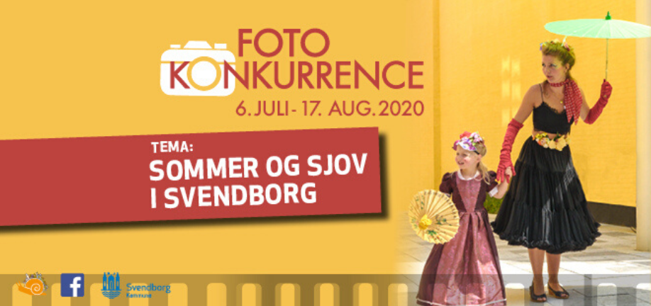 Fotokonkurrence 2020 - Sommer og Sjov i Svendborg