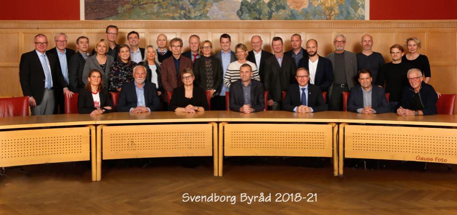 Svendborg Kommune Byråd 2018 - 2021
