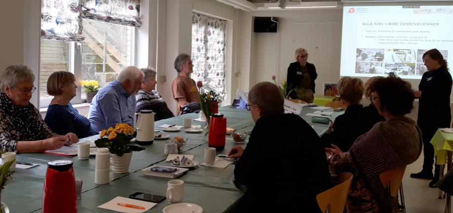 Foto: Ældreråd demensvenner