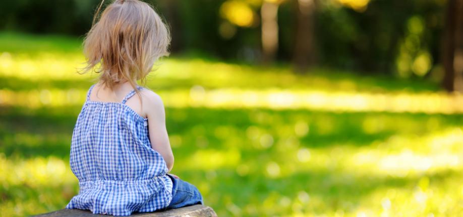 Illustration - bekymring for et barn