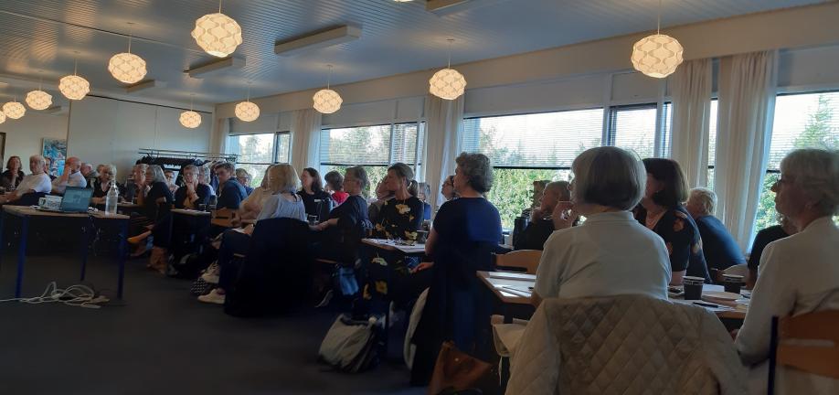 Foto fra temamødet om fremtidens bolighandlingsplan på ældreområdet