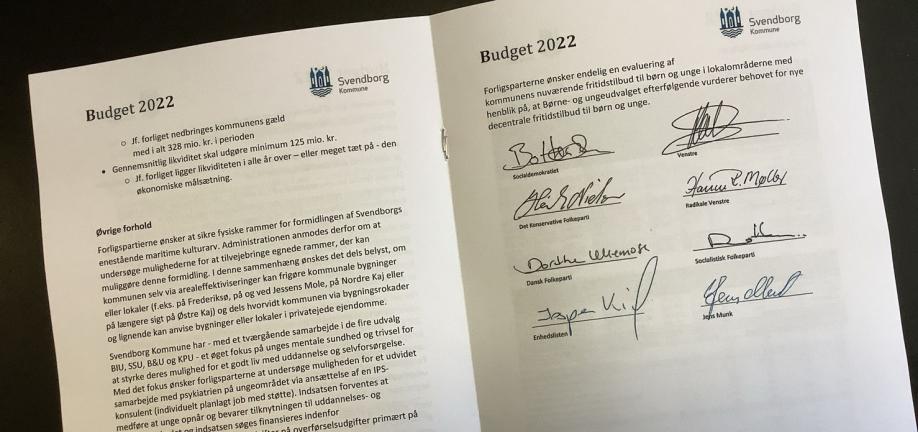Budgetforlig 2022