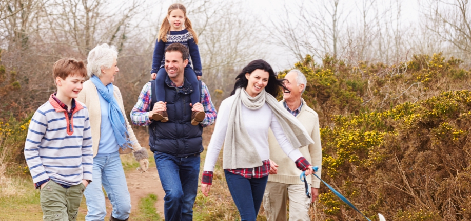 Familie og ungeområdet