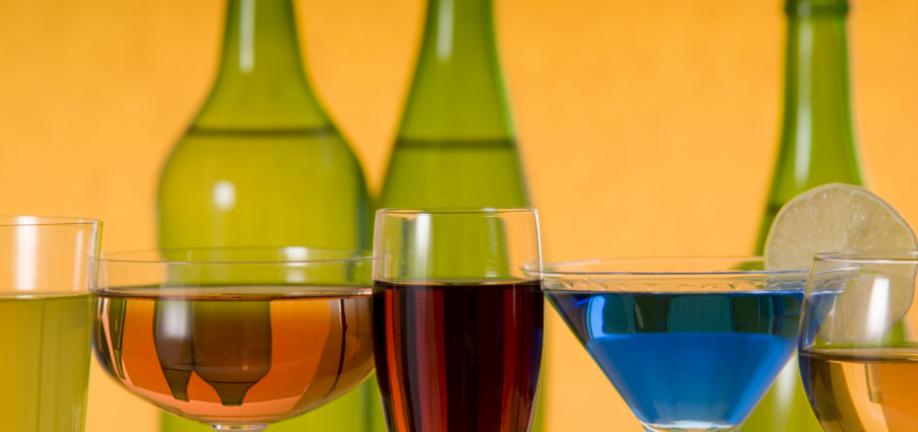 Flasker og glas