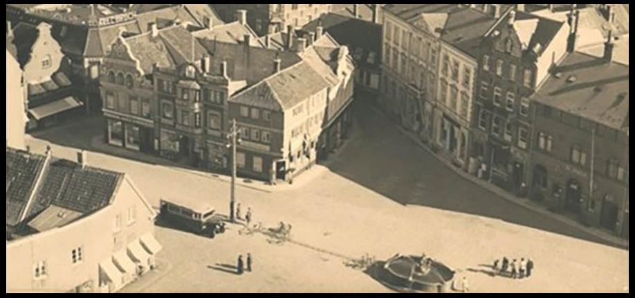 Svendborg bymidte 1930'erne