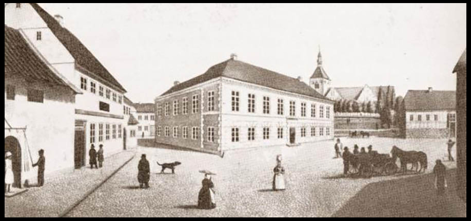 Torvet omkring 1830