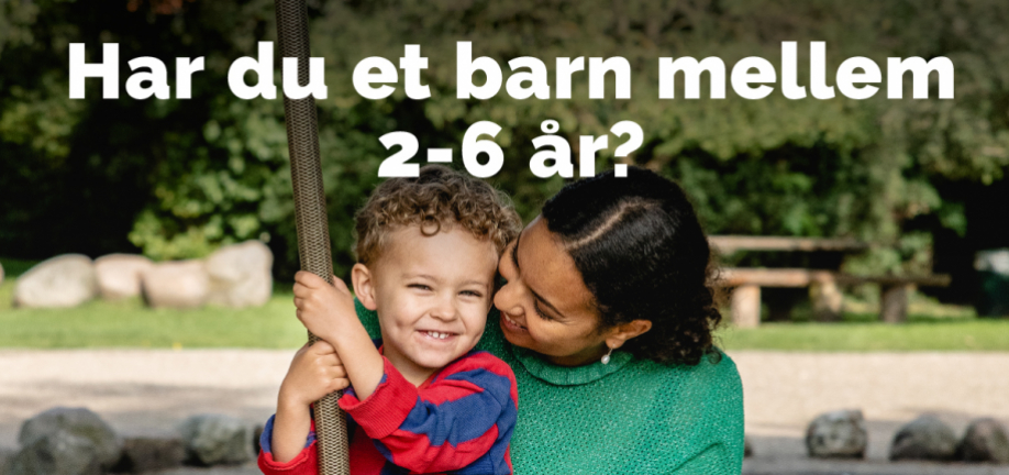 Plakat: Influenzavaccination for børn 2-6 år