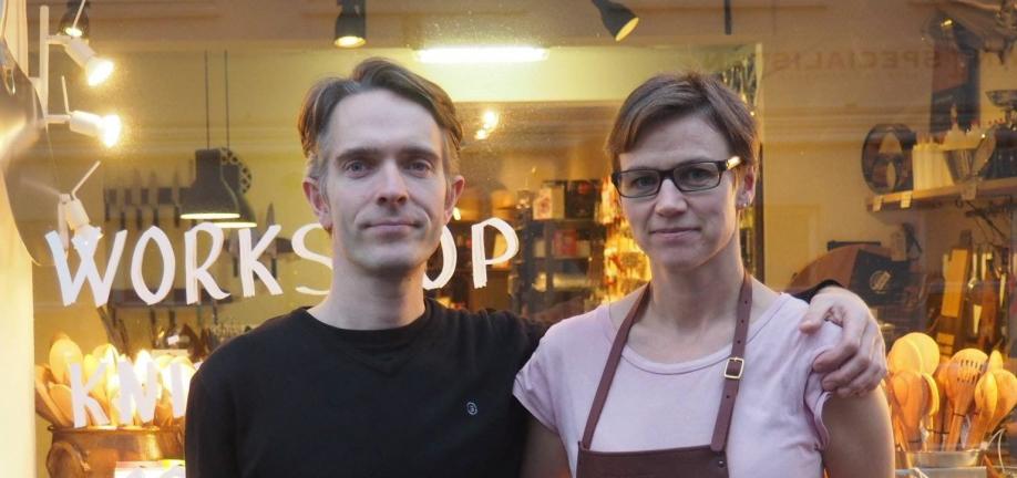 Foto: Martin og Line Fischer driver Køkkenfreak