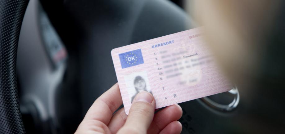 mistet kørekort politi