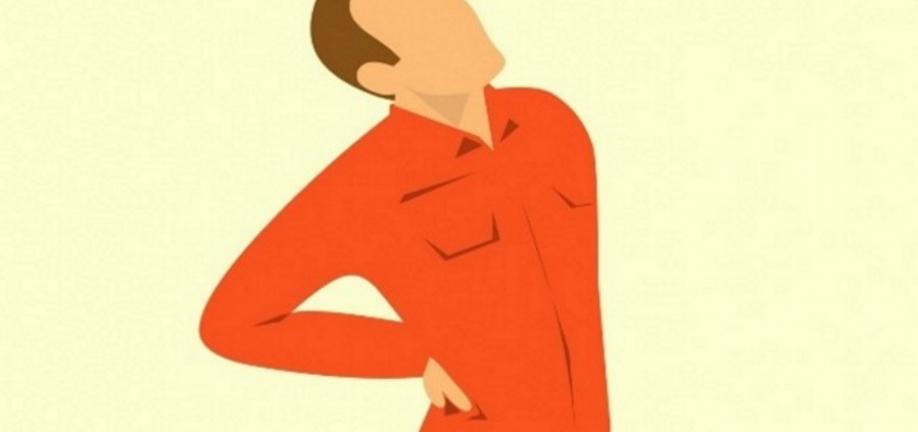 Foto rygsmerter ifm. projekt: Min Ryg rehabilitering for borgere med langvarigt rygbesvær