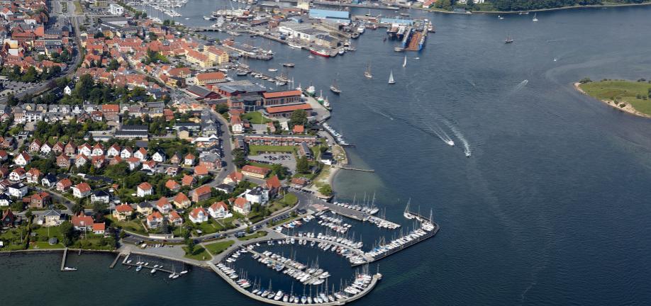 EU-udbud på byrum og klimatilpasning i Svendborg Havn - Den Blå Kant projektkonkurrence
