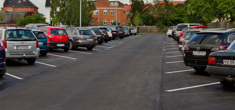 Parkering i Voldgade