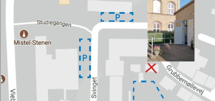 Kort over parkering