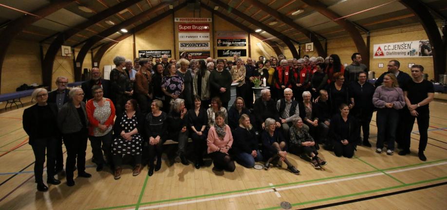 Foto: Indstillede kandidater til priser vedr. frivilligt socialt arbejde