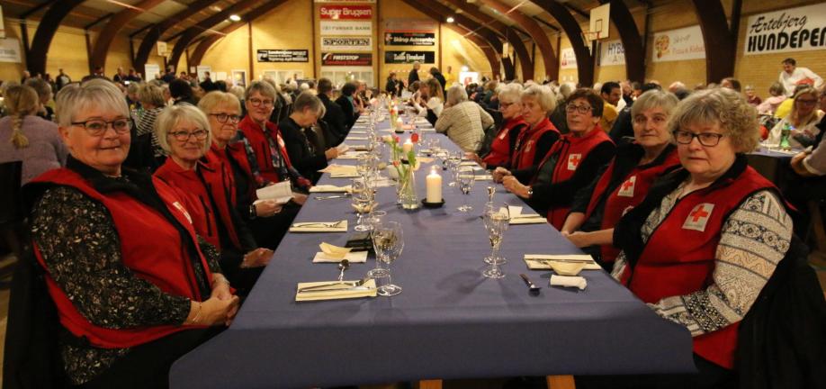 Foto: Stemningsbillede ved fejring af det frivillige sociale arbejde