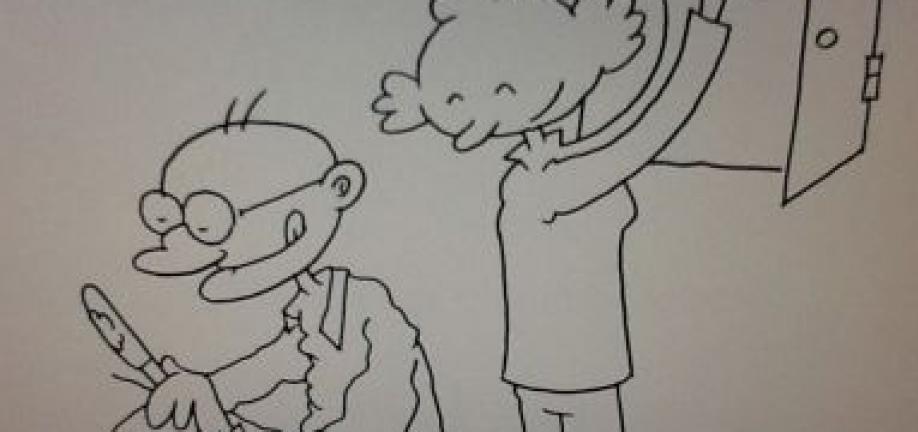Foto af tegnefilm Nye veje til aktivt liv