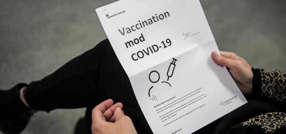 Foto: Kørsel til vaccinationscenter