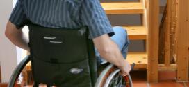 Foto af kørestol