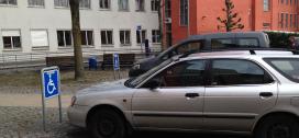 Handicap parkering