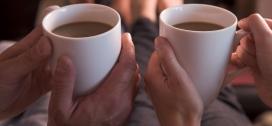 Foto af kaffekopper