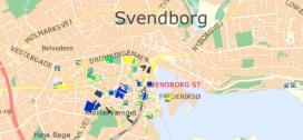 Link til kort over Parkeringspladser
