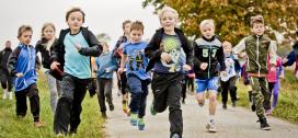 Løbende børn